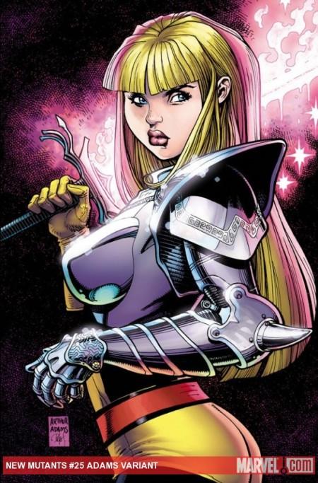 New Mutants #25 Cover Variant