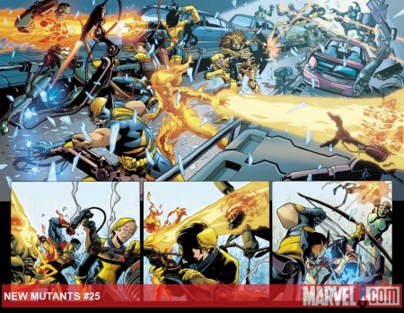 New Mutants #25 Preview1