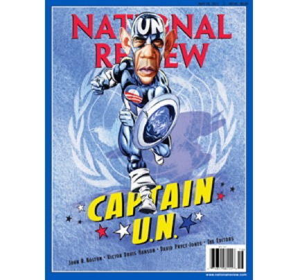 Obama as Captain America