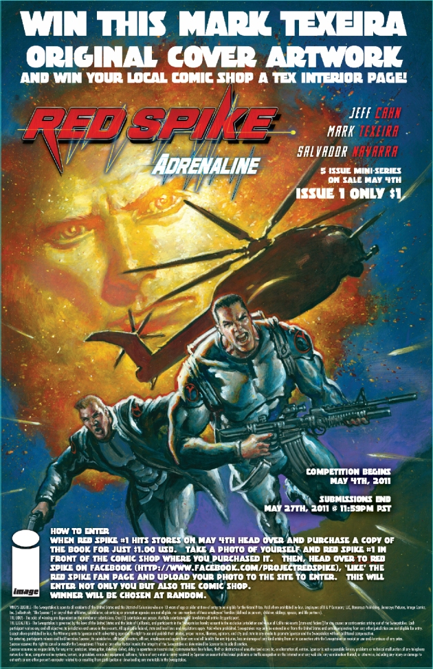 RED SPIKE Contest Flyer