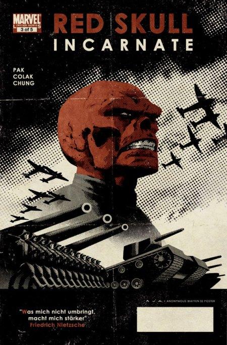 Red Skull #3 Cover