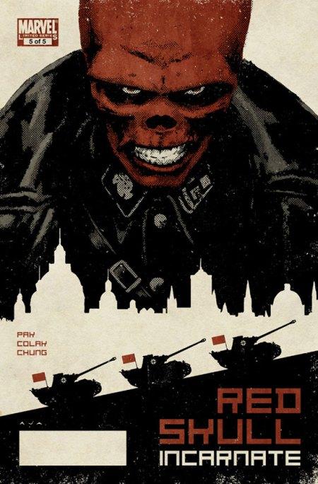 Red Skull #5 Cover