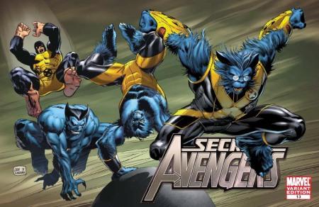 Secret Avengers #13 X-MEN EVOLUTIONS Cover