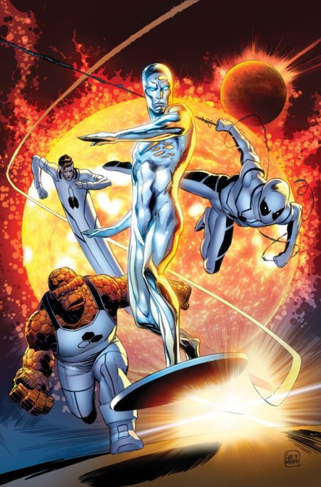 Silver Surfer #4 Cover