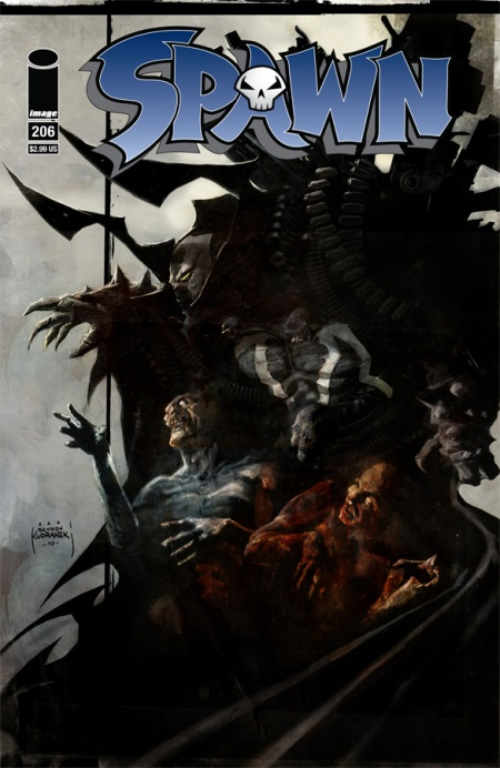 Spawn #206 cover
