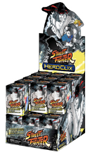 Street Fighter Heroclix Booster Display