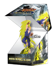 Street Fighter Heroclix Booster