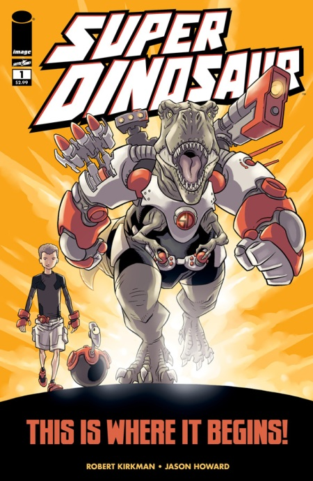 Super Dinosaur #1 cover