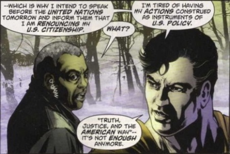 Superman Renouncing Citizenship