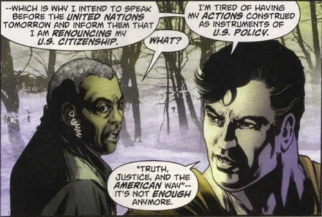 Superman Renouncing Citizenship