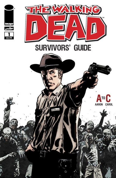 The Walking Dead Survivors' Guide #1 cover