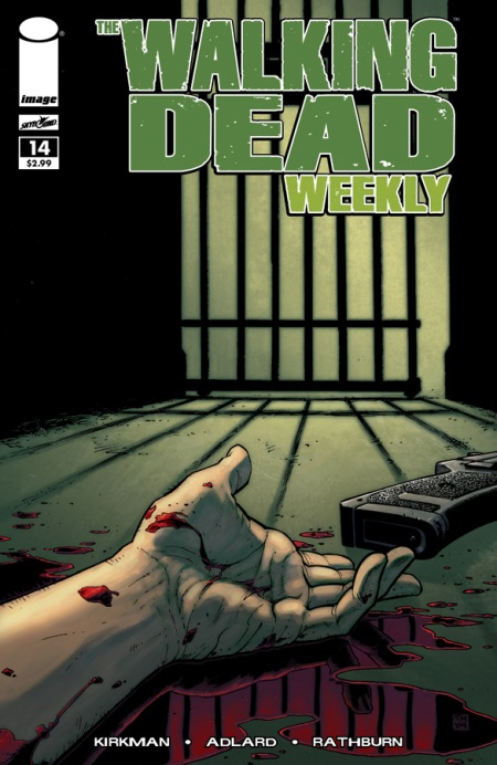 The Walking Dead Weekly #14 cover