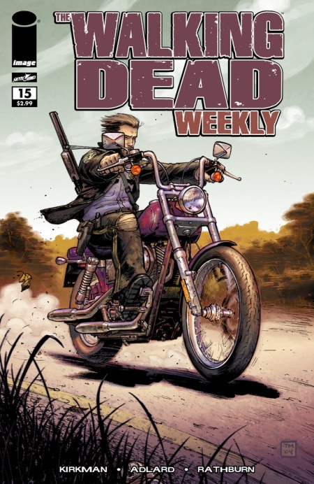 The Walking Dead Weekly #5 cover