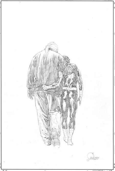 Ultimate Comics Spider-Man #160 Quesada Sketch Variant