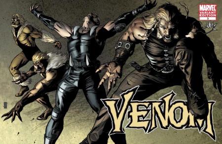 Venom #3 X-MEN EVOLUTIONS Cover