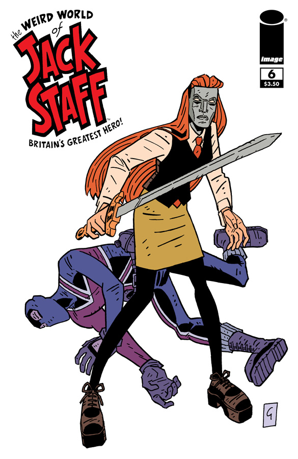 The Weird World Of Jack Staff #6 cover