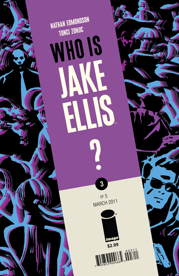 Who is Jake Ellis #3 cover