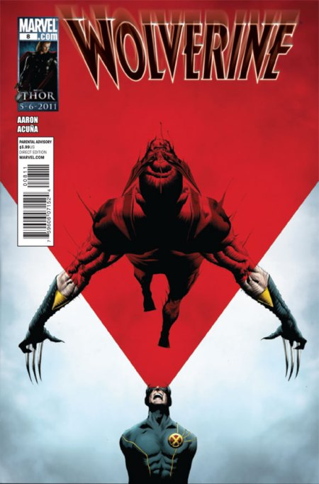 Wolverine #8 Cover