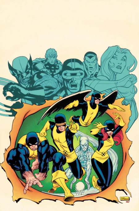 X-MEN GIANT SIZE #1 COVER