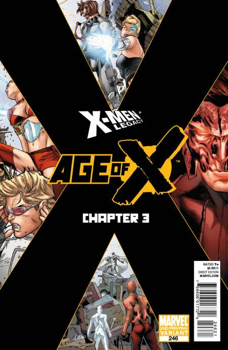 X-MEN LEGACY #246 2nd PRINTING COVER