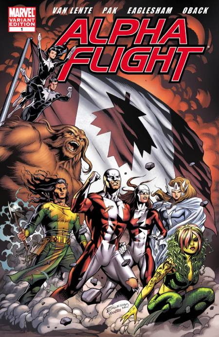 ALPHA FLIGHT #1 Eaglesham Variant