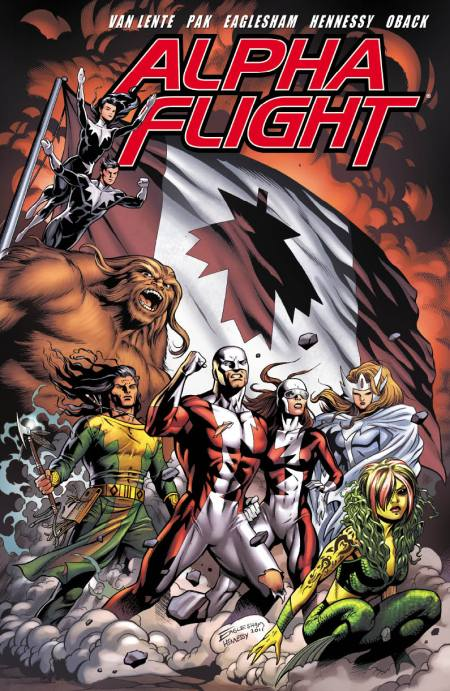 Alpha Flight #1 Cover Eaglesham Variant