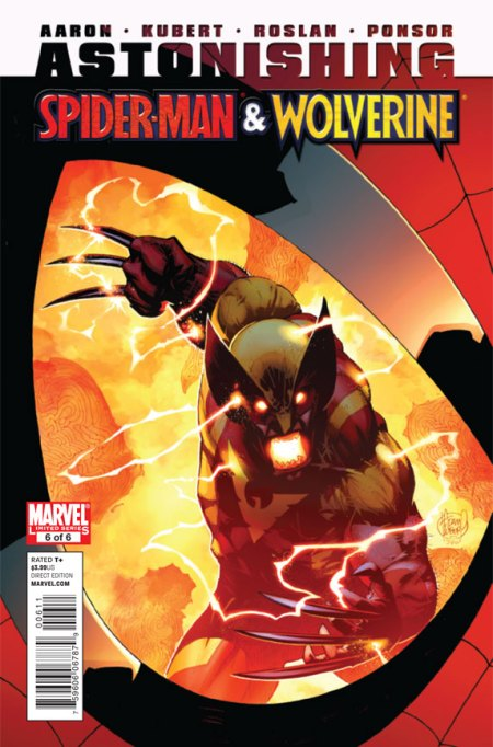 Astonishing Spider-Man and Wolverine #6 Cover