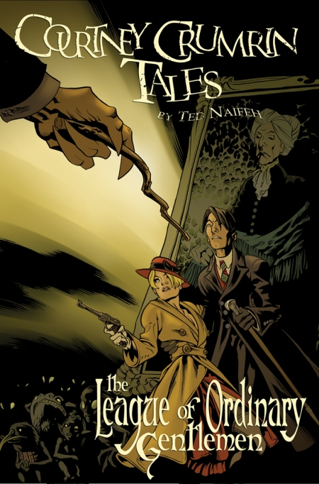 Courtney Crumrin Tales #2: The League of Ordinary Gentleman COVER