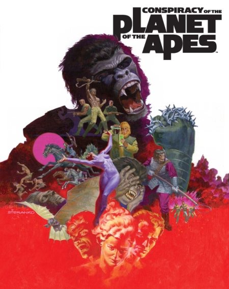 Conspiracy of the Planet of the Apes Cover