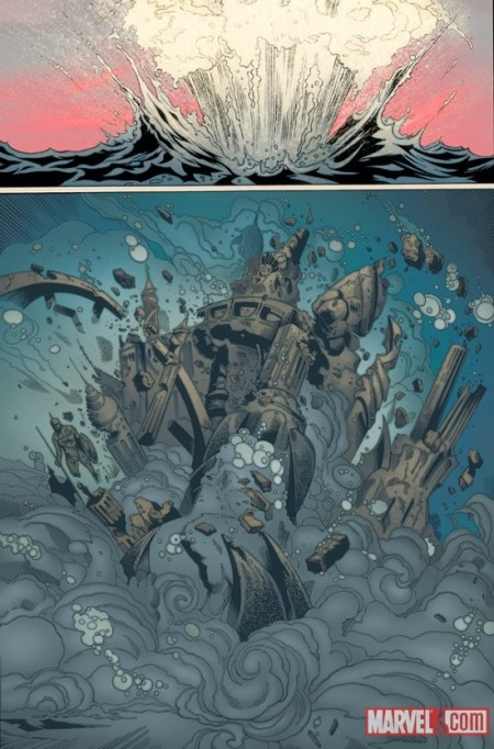Fear Itself: The Deep #1 Preview4