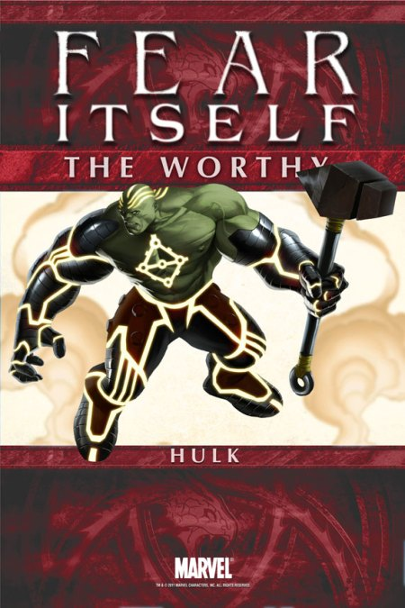 Fear Itself: TheWorthy #5 Cover