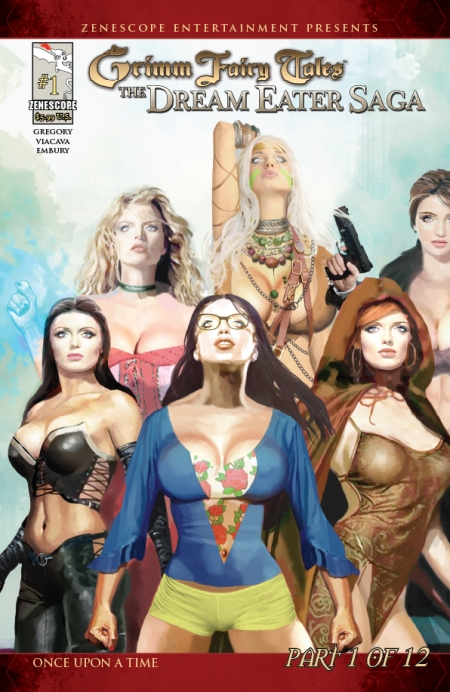 Grimm Fairy Tales Dream Eater Saga Part 1 Cover B