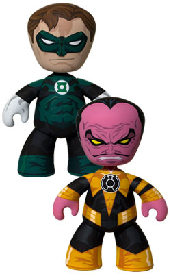 Green Lantern and Sinestro Mez-Itz