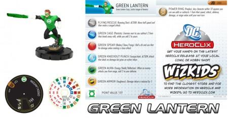 Green Lantern Heroclix