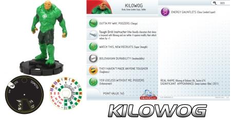 Heroclix Kilowog