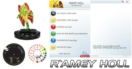 Heroclix R'Amey Holl