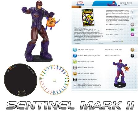 Heroclix Sentinel Mark II