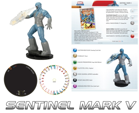 Heroclix Sentinel Mark V