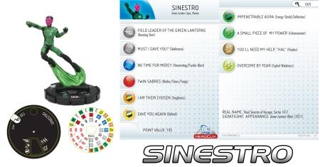 Heroclix Sinestro