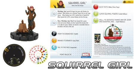 Heroclix Squirrel Girl