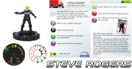 Heroclix Steve Rogers