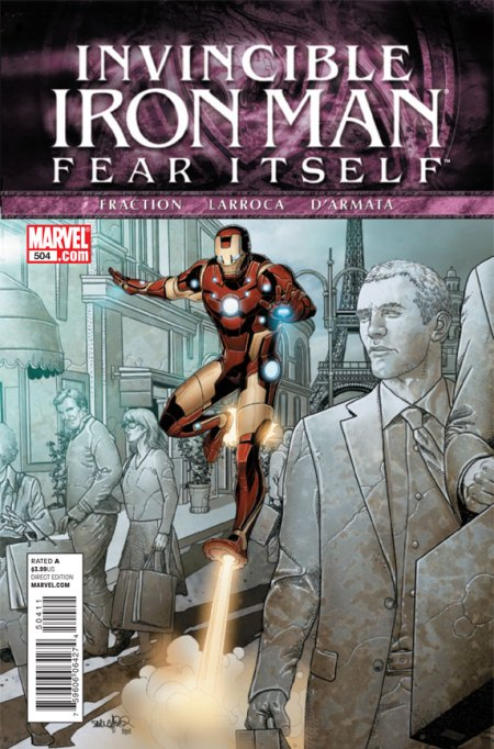Invincible Iron Man #504 Cover