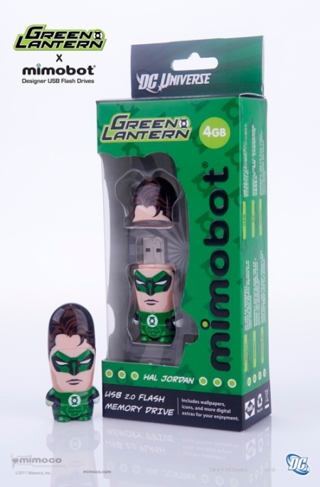 Mimobot Green Lantern package