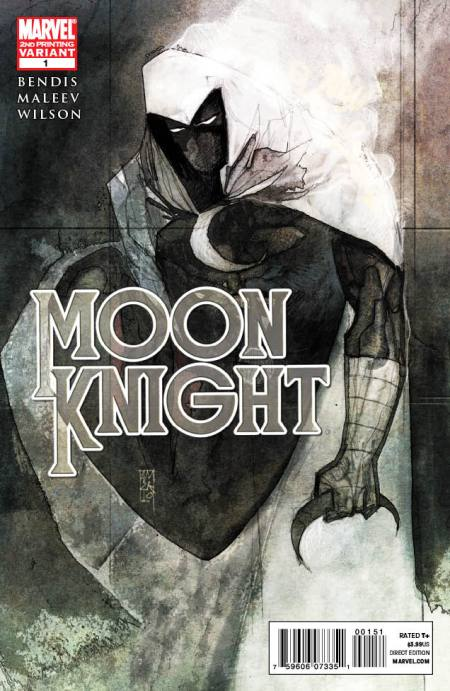 Moon Knight #1 Second Cover