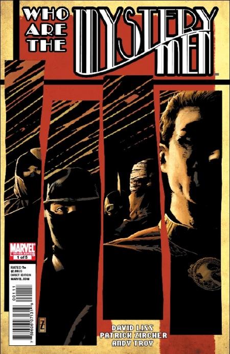 Mystery Men #1 Cover