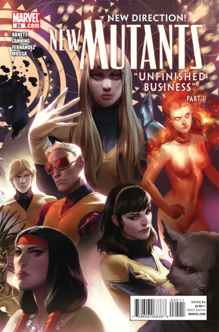 New Mutants #25 Cover