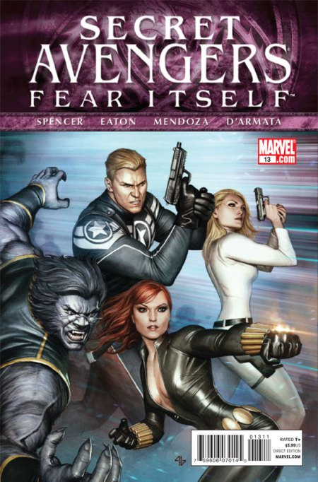 Secret Avengers #13 Cover