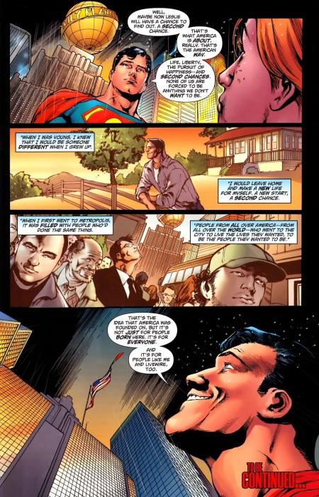 Superman #711 Panel