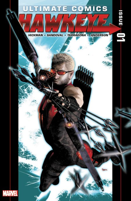 Ultimate Comics Hawkeye #1 Cover