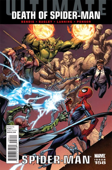 Ultimate Comics Spider-Man #158 Cover